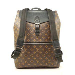 Auth Louis Vuitton Macassar Palk #3581L10